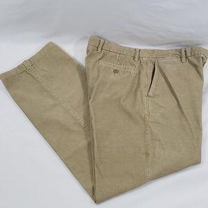 Dockers Men's 36x32 Corduroy Pants Beige Straight